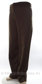 Officer Chocolate Trouser replica wo2 officiers broek chocolate kleur