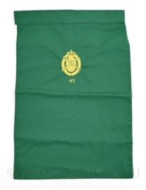 Defensie halsdoek  Geneeskundige dienst 41e compagnie  - groen - 47 x 34 cm - origineel