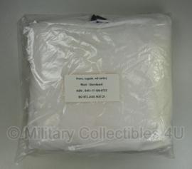 KL Hoes rugzak wit (arctic) 120 liter Rugzak sneeuw overtrek -wit - nieuw in verpakking - origineel leger