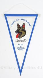Vlag Polizia De Segurança Publica - Portugese politie - 27,5 x 16 cm - Origineel