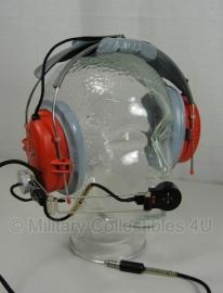 Military & Aircraft headset  MX-3473/AIC - rood / grjs koptelefoon - origineel