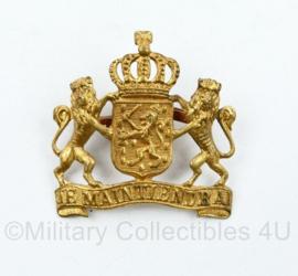 Nederlandse overheid Je Maintiendrai embleem goudkleurig - origineel