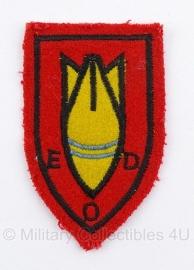 EOD Explosieven OpruimingsDienst embleem - 7,5 x 4,5 cm. - origineel