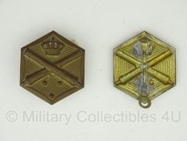 KL schouderstuk insigne set - Veldartillerie - origineel