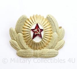 USSR Russische leger pet insigne Officier - 6 x 5 cm - origineel