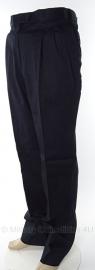 Nederlandse Marine uitgaans uniform broek donkerblauw glad wol - meerdere maten -  HEREN OF DAMES - origineel