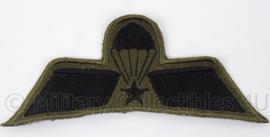KL Landmacht GVT tenue parawing brevet A Operationeel parachutist - afmeting 10 x 4 cm - origineel