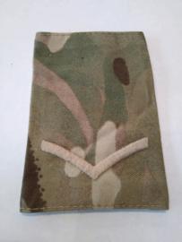 Britse leger MTP camo schouderstukken SET - rang Lance Corporal - origineel