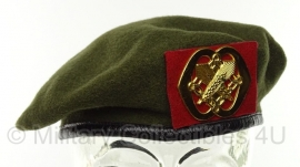 KL Nederlandse leger baret Intendance - maat 56, 57, 58 of 60 - origineel