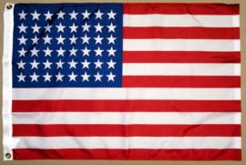 US vlag - 48 sterren -  Polyester - 1 x 1,5 meter