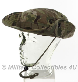 Boonie hat / Bush hat - Luxe model Ripstop - DTC / Multi camo - model MET drukknopen - maat  Large