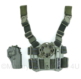 Blackhawk tactical dropleg holster platform with quick disconnect kit en serpa  CQC holster - origineel - nieuw!