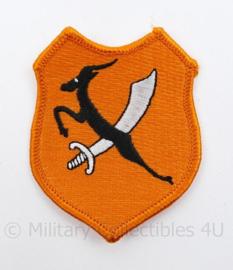 Nederlands leger 3-8 Regiment Infanterie embleem - 7,5 x 6 cm