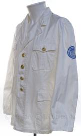 KM Koninklijke Marine witte uniform jas - met goudkleurige knopen - maat M - origineel