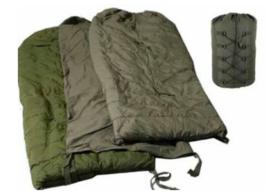 Canadian Army MSS ECWS 5 delige MSS System Sleeping bag set met hood- origineel