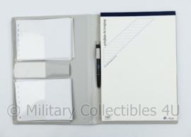 Defensie  PIT schrijfmap met schrijfblok en inhoud nieuw - 32,5 x 24,5 x 2,5 cm - origineel