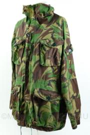 Britse Leger DPM  camo smock combat parka - windproof arctic - gemodificeerd voor KL schutter lange afstand - sniper - maat 180/112 - capuchon eraf gesneden - gedragen - origineel