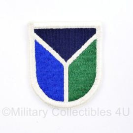 US Army naoorlogse cap beret flash  - 6 x 5 cm - origineel