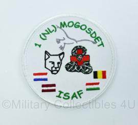 Embleem met klittenband - 1 NL MOGOSDET ISAF - origineel