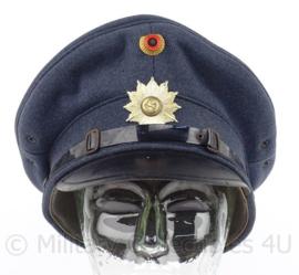 Duitse polizei schirmmutze - Niedersachsen - maat 58 - origineel