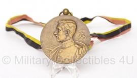 Belgische penning medaille  - Origineel
