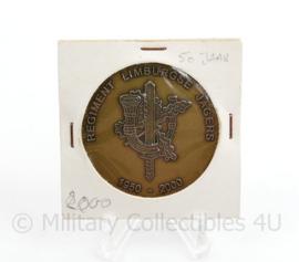 Defensie coin Regiment Limburgse Jagers 1950-2000   -  37 mm - origineel