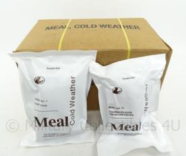 US Army MCW MRE Cold Weather los rantsoen - Meal Cold Weather  - houdbaar tot 12-2019