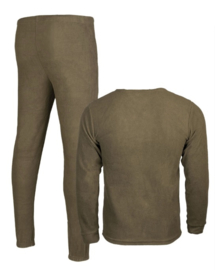 Thermo Fleece ondergoed - ronde hals (zonder kraag)