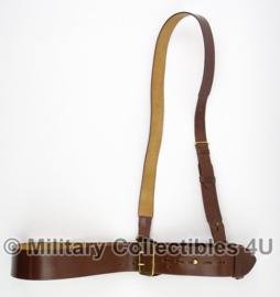 MVO Ministerie van Oorlog koppel met schouderriem - 85 cm - topstaat - origineel