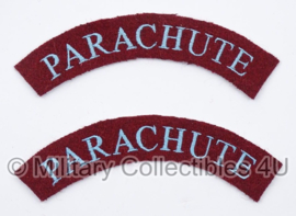 WO2 Britse shouldertitle set - Parachute - replica