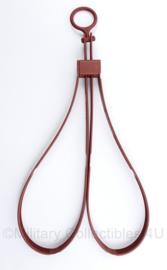 Defensie rode oefen handboeien merk ASP Tri-fold handcuff - totale lengte 30 cm - origineel