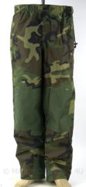 Korps Mariniers trilaminaat waterproof camo broek - ZELDZAAM proefmodel met versterkte kniestukken - ONGEBRUIKT - meerdere maten - origineel