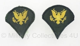 US Specialist SPC  rang embleem set  - origineel Vietnam oorlog