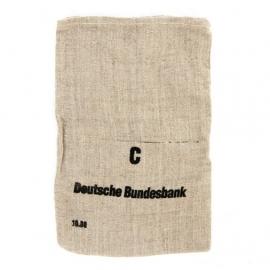 Deutsche Bundesbank jute geldzak Type C - 21 x 32 cm. origineel!