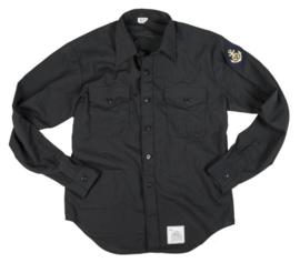 US Navy black shirt overhemd - meerdere maten - origineel