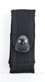 Korps Mariniers en Defensie zwarte koppeltas voor oa zakmes - 11,5 x 5 x 3 cm - licht gebruikt - origineel