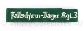 Cufftitle Fallschirm - Jäger Regiment 3