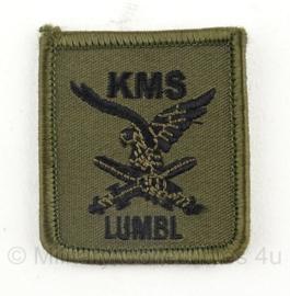 KL Nederlandse leger Lumbl Luchtmobiel KMS borstembleem met klittenband - origineel