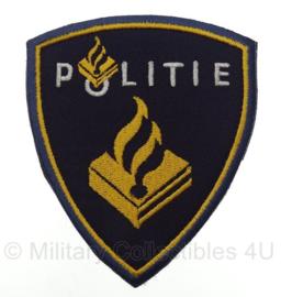 Nederlandse Politie embleem - ZONDER klittenband - 10,5 x 9 cm