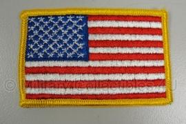 US uniform vlag stof - origineel
