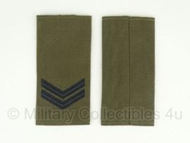 Korps Mariniers Korporaal rangen set - origineel