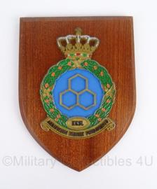 KLU Koninklijke Luchtmacht wandbord - KKSL Koninklijke Kaderschool Luchtmacht - origineel
