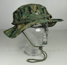 Boonie hat / Bush hat - Luxe model Ripstop - marpat Digital Woodland camo USMC