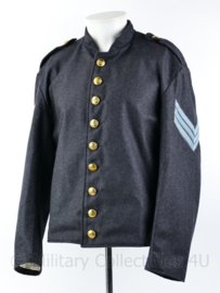 Amerikaanse Civil war CS Richmond jacket met Sergeant rangen  - maat 46 -  Replica