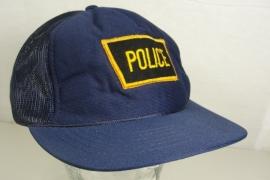 Onbekende politie baseball cap - Art. 575 - origineel