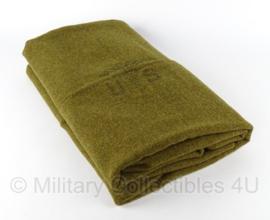 US Army M1934 OD WOOL blanket legerdeken - WO2 bruine kleur en model! - origineel begin jaren 50