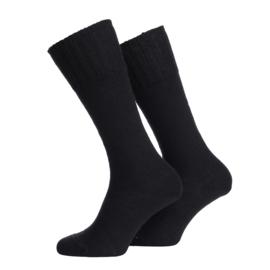 Leger sokken voor gevechtslaarzen - ZWART 30% wol - maat 47/48 - nieuw gemaakt