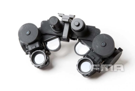 DUMMY FMA TB1300 PVS-21 Night Vision Device nachtkijker voor MICH FAST helm ZWART (zonder helm)
