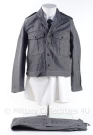 NL BB Bescherming Bevolking uniform set, jasje en broek - maat 47 - origineel