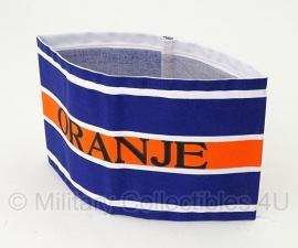 Armband Nederlandse verzet en BS Binnenlandse Strijdkrachten Armband Oranje